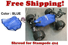 Traxxas Stampede 4X4 ESC Receiver Chassis Shroud by Outerwears 20-2656-02 BLUE