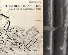 Storia dell'urbanistica dalle origini all'ellenismo. Coppa. Einaudi. 1968. MC3.3