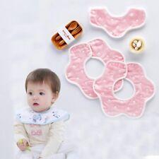 Cotton Flower Saliva Towel Waterproof Apron Cartoon Toddler Dinner Baby Bibs
