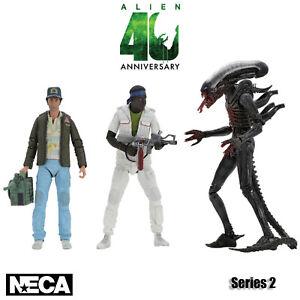 NECA Alien 40TH Anniversary Series 2 Brett Parker Xenomorph Official New UK