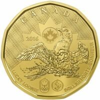 Sealed Original Canada 2016 LUCKY LOONIE Olympic DOLLAR from pack sheet (NO TAX)