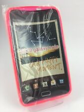Brand New Samsung Galaxy Note N7000 Pink S Wave Gel Case