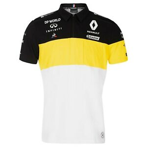 Renault 2020 F1 Short Sleeve Team Polo shirt in White