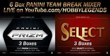 BALTIMORE ORIOLES 2020 PRIZM (3 Box) + SELECT (3 Box) Team Break #8