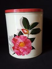Vintage WILLOW metal tin canister AUSTRALIAN MADE