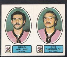 PANINI CALCIATORI FOOTBALL Adesivo 1977-78, N. 470, PALERMO, CARLO OSELLAME