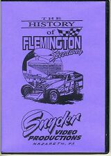 History of Flemington Speedway DVD - Snyder Video Productions