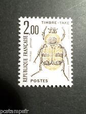 FRANCE 1982, timbre TAXE 107, INSECTES,TRICHIUS GALLICUS, neuf**, TAX MNH