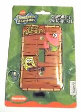 Nickelodeon SpongeBob Squarepants Seaworthy Switch Plate Decor - GREAT HANG OUT!