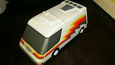 Vintage 1991 Galoob Micro Machines Camper Van Fold Out City Used