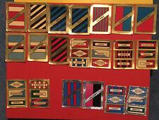 CALCIO FLASH 1982 / 83 lotto 20 scudetti - Oro e Argento