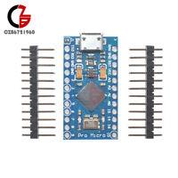 2/5/10PCS Pro Micro ATmega32U4 5V 16Mhz for Arduino Replace ATmega328 Pro Mini