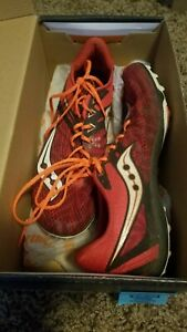 RED SAUCONY Men's TRACK Running Shoes Size 10 US