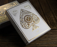 Artisan Playing Cards Deck (White) by Theory 11 and Murphy's Magic