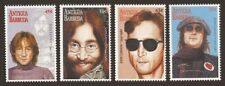 ANTIGUA 1995 POP ROCK MUSIC JOHN LENNON 15TH DEATH ANNIVERSARY SET MNH