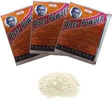 3 Pcs. Pises Powder Parachute Thai Herb Anti Bacterial Acne Pimple Treatment