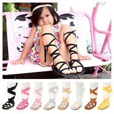 Baby Girl Shoes Gladiators Sandals Sandles Toddler Kids Flip Flops Summer Boots