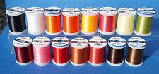 Veevus BINDEFADEN 10/0 16 Farben 100 Mtr. Veevus 10/0 AUSVERKAUF -40% DEAL