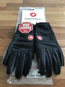 Genuine Castelli Chiro 3 Gloves Black/grey Size Large Excellent Condition
