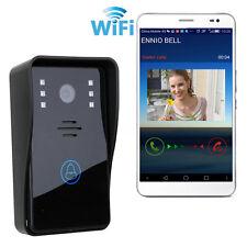 WIRELESS WIFI VIDEO CITOFONO CAMPANELLO TOUCH 4G PER SMARTPHONE ANDROID IOS