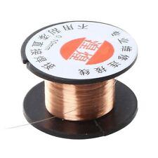0.1mm Diameter Copper Soldering Enamelled Reel Wire W0L4