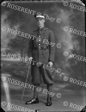 More details for 1918 guards officers training battalion- e j roberts - glass negative 22 by 16cm
