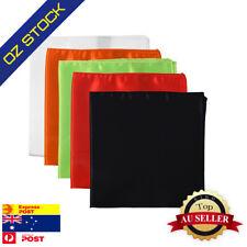"Bulk 14"" Party Satin Handkerchiefs Men's 5 Pocket Squares Dan Smith C.C.Y.D.001"