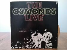 The Osmonds - The Osmonds Live (Vinyl/LP) (2 Record Set) (MGM, USA, 1972)