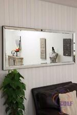 Luna Leaner Large All Mirror Glass Mirror 5ft10 x 2ft6