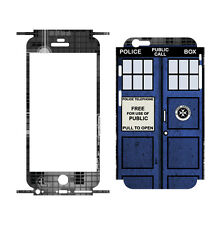 "707 Skins FULL Wrap For Apple iPhone 6S 4.7"" Cover Decal Sticker - TARDIS"
