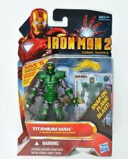 "TITANIUM MAN ( 4"" ) RARE ( 2010 ) MARVEL IRON MAN MOVIE SERIES ACTION FIGURE #31"