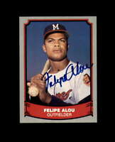 Felipe Alou Hand Signed 1988 Pacific Baseball Legends Milwaukee Braves Autograph