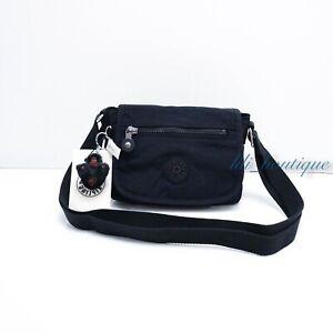 NWT Kipling AC8280 Sabian Crossbody Mini Shoulder Bag Polyamide True Blue Tonal