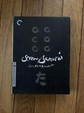 Seven Samurai by Akira Kurosawa( Dvd, 2006, 3-Disc Set - Criterion Collection )