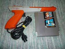 Nintendo NES Orange Light Zapper Gun + Super Mario Bros./Duck Hunt