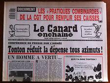 """Le Canard Enchaîné 17/5/1989; Les """"pratiques combinardes"""" de la CGT"""