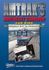 Amtrak's Northeast Corridor Cab Ride DVD Pentrex DC to Philadelphia Metroliner