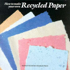 Good, How to Make Your Own Recycled Paper, Valentine, Malcolm, Book