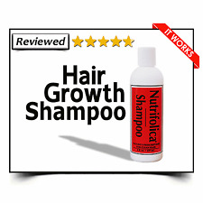 HAIR LOSS SHAMPOO NUTRIFOLICA REGROWTH no minoxidil rogain rogaine side effects