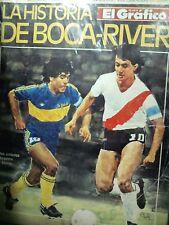 BOCA JUNIORS Vs RIVER PLATE History Matches Magazine Maradona Alonso