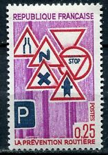 STAMP / TIMBRE FRANCE NEUF LUXE ** N° 1548 ** PREVENTION ROUTIERE
