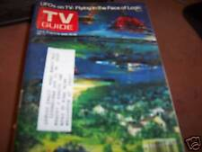 TV Guide June 10-16 1978 UFOs on TV
