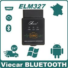 Interface de diagnostic Viecar ELM327 BLUETOOTH  V2.1 Scanner PC Android OBD2