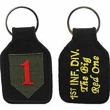 US ARMY 1ST ID FIRST INFANTRY DIVISION THE BIG RED ONE 1 KEY CHAIN VETERAN