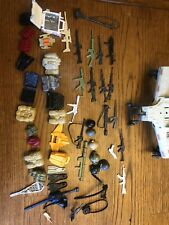 Vintage 1980's Hasbro GI JOE Lot of Weapons & Accessories