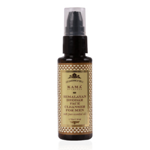 KAMA AYURVEDA himalayan deodar face cleanser for men 50 ml