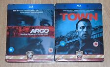 The Town & Argo Bundle (blu-ray) Steelbook. NEW & SEALED (UK release)