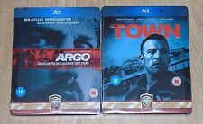 The Town & Argo Bundle (blu-ray) Steelbook. NEW & SEALED (UK release)