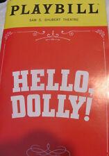 HELLO DOLLY Playbill BETTE MIDLER Revival Broadway Musical DAVID HYDE PIERCE