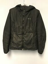 Patagonia Women Micro Puff Hoody Jacket Coat Black Size S